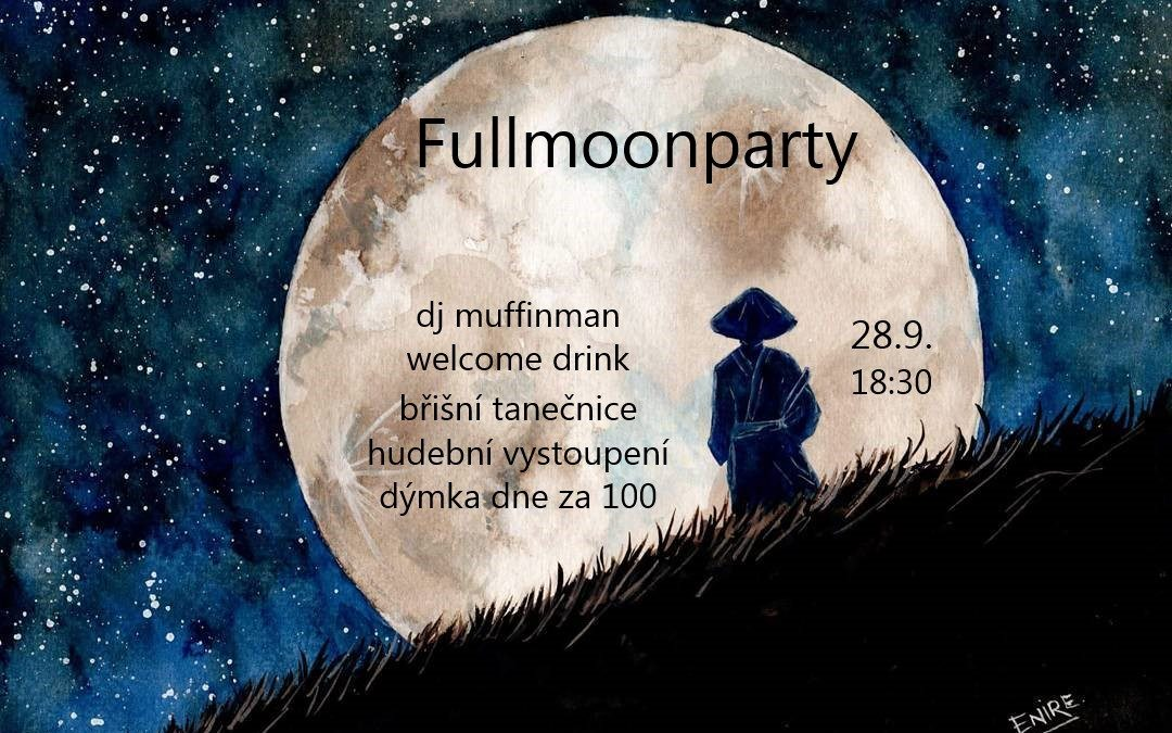 Fullmoonparty 28.9.2020
