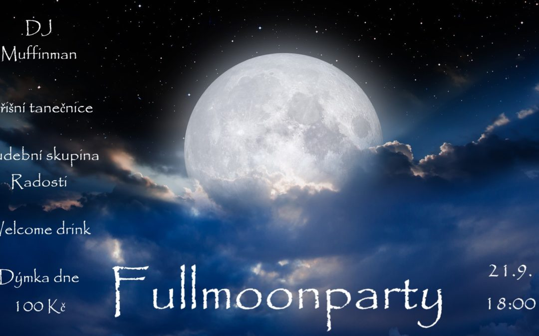 Fullmoonparty 21.9.2021